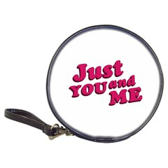 Just You And Me Typographic Statement Design Cd Wallet by dflcprints
