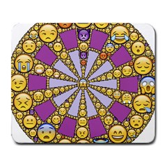 Circle Of Emotions Large Mouse Pad (rectangle) by FunWithFibro