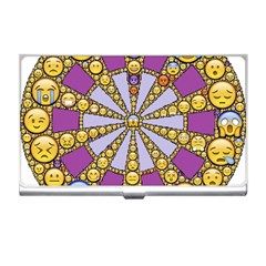 Circle Of Emotions Business Card Holder by FunWithFibro