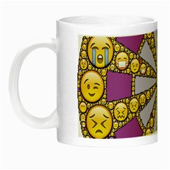 Circle Of Emotions Glow In The Dark Mug by FunWithFibro
