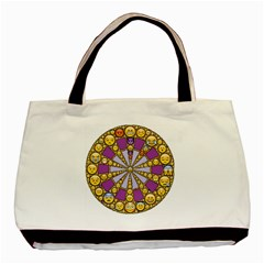 Circle Of Emotions Classic Tote Bag by FunWithFibro