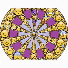 Circle Of Emotions Canvas 18  X 24  (unframed) by FunWithFibro