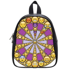Circle Of Emotions School Bag (small) by FunWithFibro