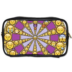 Circle Of Emotions Travel Toiletry Bag (two Sides) by FunWithFibro