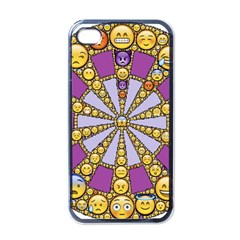 Circle Of Emotions Apple Iphone 4 Case (black) by FunWithFibro