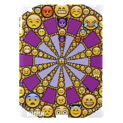 Circle Of Emotions Apple Ipad 3/4 Hardshell Case (compatible With Smart Cover) by FunWithFibro