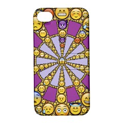 Circle Of Emotions Apple Iphone 4/4s Hardshell Case With Stand by FunWithFibro
