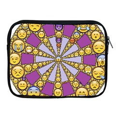 Circle Of Emotions Apple Ipad Zippered Sleeve by FunWithFibro