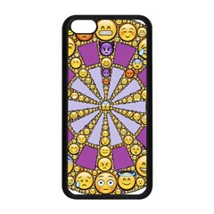 Circle Of Emotions Apple Iphone 5c Seamless Case (black) by FunWithFibro