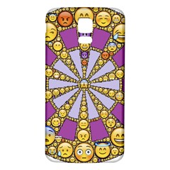 Circle Of Emotions Samsung Galaxy S5 Back Case (white) by FunWithFibro