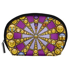 Circle Of Emotions Accessory Pouch (large) by FunWithFibro