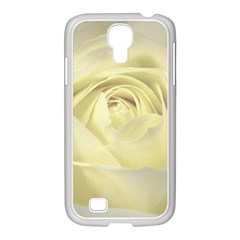 Cream Rose Samsung Galaxy S4 I9500/ I9505 Case (white) by Colorfulart23