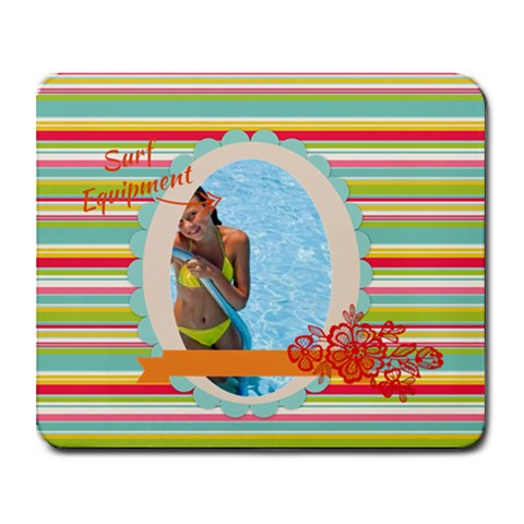 Summer By Summer Time    Collage Mousepad   T7bncaw6kaap   Www Artscow Com 9.25 x7.75 Mousepad - 1