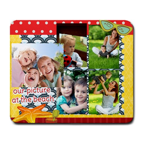 Summer By Summer Time    Collage Mousepad   Bc4h773pnosc   Www Artscow Com 9.25 x7.75 Mousepad - 1