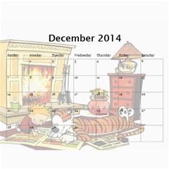 Calendar   Calvin And Hobbes By Scott Grambo   Wall Calendar 11  X 8 5  (12 Months)   Aibhmq0tzu1s   Www Artscow Com Dec 2014