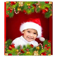 Christmas Drawstring Pouch (medium) By Deborah   Drawstring Pouch (medium)   Erzswe5ubl2v   Www Artscow Com Back