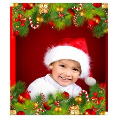 Christmas Drawstring Pouch (small) By Deborah   Drawstring Pouch (small)   Cq02jeq80z8v   Www Artscow Com Front