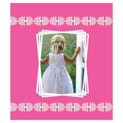 Pretty In Pink Drawstring Pouch (small) By Deborah   Drawstring Pouch (small)   88y1v8l87fae   Www Artscow Com Back