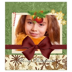 Christmas By Joely   Drawstring Pouch (large)   Ofmem0wfglq9   Www Artscow Com Back