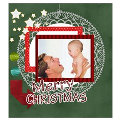 Christmas By Joely   Drawstring Pouch (large)   Jd1aoou1xw92   Www Artscow Com Back