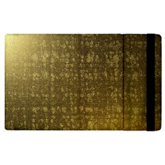 Gold Apple Ipad 2 Flip Case by Colorfulart23