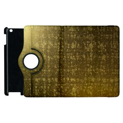 Gold Apple Ipad 3/4 Flip 360 Case by Colorfulart23