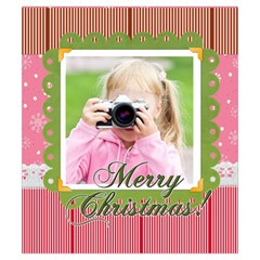 Christmas By Joely   Drawstring Pouch (small)   L6o2hqozv9fu   Www Artscow Com Front