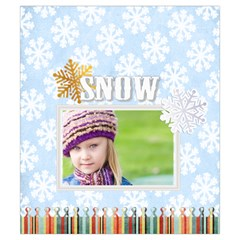 Christmas By Joely   Drawstring Pouch (small)   1lsj9lygpc0v   Www Artscow Com Front