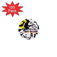 Happy Halloween Collage 1  Mini Button (100 Pack) by StuffOrSomething