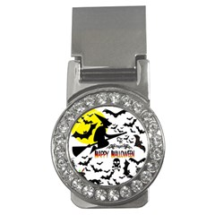 Happy Halloween Collage Money Clip (cz) by StuffOrSomething