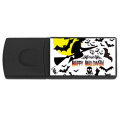 Happy Halloween Collage 4gb Usb Flash Drive (rectangle) by StuffOrSomething