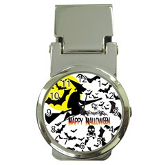 Happy Halloween Collage Money Clip With Watch by StuffOrSomething