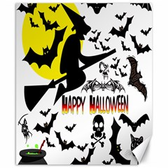 Happy Halloween Collage Canvas 8  X 10  (unframed) by StuffOrSomething