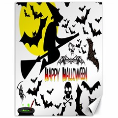 Happy Halloween Collage Canvas 18  X 24  (unframed) by StuffOrSomething
