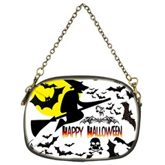 Happy Halloween Collage Chain Purse (one Side) by StuffOrSomething