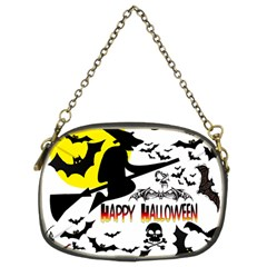 Happy Halloween Collage Chain Purse (two Sided)  by StuffOrSomething