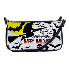 Happy Halloween Collage Evening Bag by StuffOrSomething