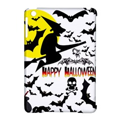 Happy Halloween Collage Apple Ipad Mini Hardshell Case (compatible With Smart Cover) by StuffOrSomething
