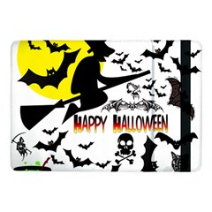 Happy Halloween Collage Samsung Galaxy Tab Pro 10 1  Flip Case by StuffOrSomething