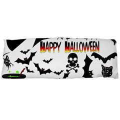 Happy Halloween Collage Body Pillow (dakimakura) Case (two Sides) by StuffOrSomething