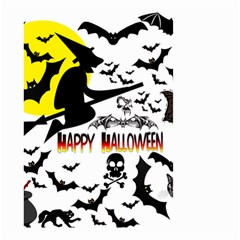 Happy Halloween Collage Small Garden Flag (two Sides) by StuffOrSomething