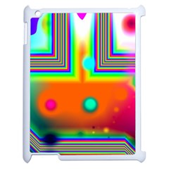 Crossroads Of Awakening, Abstract Rainbow Doorway  Apple Ipad 2 Case (white) by DianeClancy
