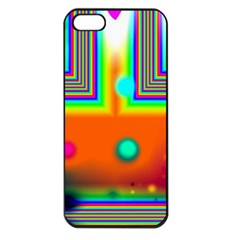 Crossroads Of Awakening, Abstract Rainbow Doorway  Apple Iphone 5 Seamless Case (black) by DianeClancy