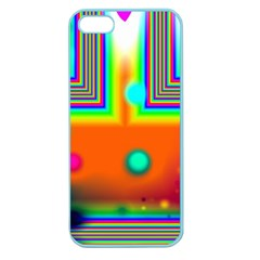Crossroads Of Awakening, Abstract Rainbow Doorway  Apple Seamless Iphone 5 Case (color) by DianeClancy
