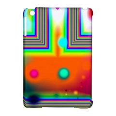 Crossroads Of Awakening, Abstract Rainbow Doorway  Apple Ipad Mini Hardshell Case (compatible With Smart Cover) by DianeClancy