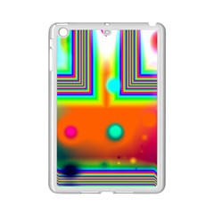 Crossroads Of Awakening, Abstract Rainbow Doorway  Apple Ipad Mini 2 Case (white) by DianeClancy