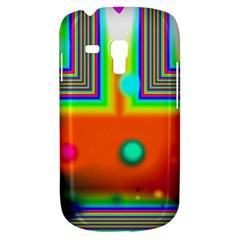 Crossroads Of Awakening, Abstract Rainbow Doorway  Samsung Galaxy S3 Mini I8190 Hardshell Case by DianeClancy