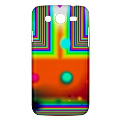 Crossroads Of Awakening, Abstract Rainbow Doorway  Samsung Galaxy Mega 5 8 I9152 Hardshell Case  by DianeClancy