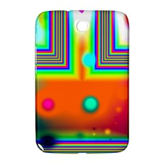 Crossroads Of Awakening, Abstract Rainbow Doorway  Samsung Galaxy Note 8 0 N5100 Hardshell Case  by DianeClancy