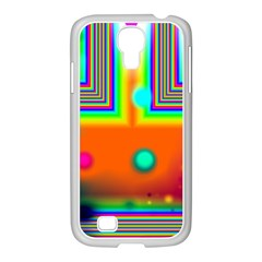 Crossroads Of Awakening, Abstract Rainbow Doorway  Samsung Galaxy S4 I9500/ I9505 Case (white) by DianeClancy